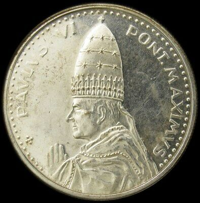 1963-1978 Vatican City Pope Paul VI Silver Medal