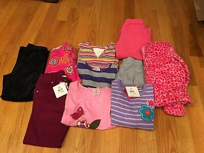 NWTS/EUC Girls lot of 10 Fall/Winter Hanna Andersson Size 120 Size 6-7