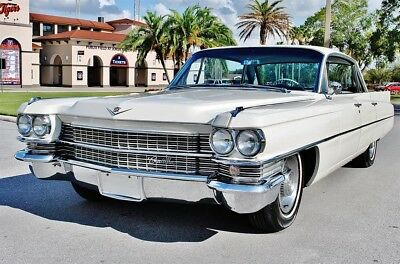 1963 Cadillac DeVille Series 62 Hardtop 50k Miles Absolutely Gorgeous!
