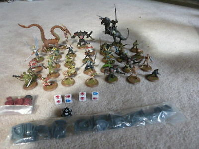 30 + Heroscape Battlefield Figures Dragon DICE and 35+ Misc Replacement Pieces