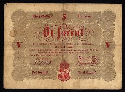5 Forint From Hungary 1848 MM11