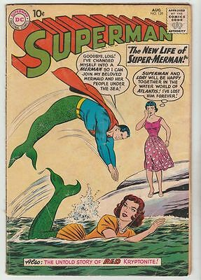 Superman #139 strict VG+ 4.5  Appearance - Lori Lemuris   100s more Sup's up now