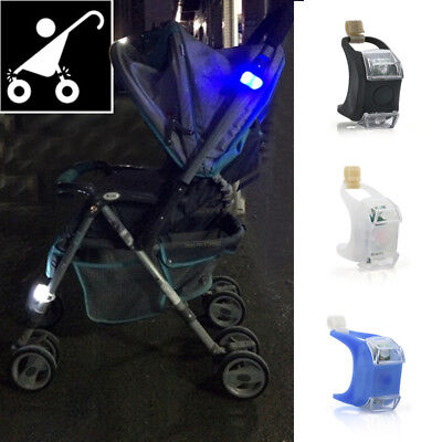 1PC Night Silicone Caution Light Lamp Flash Led For Baby Stroller Prams Safety