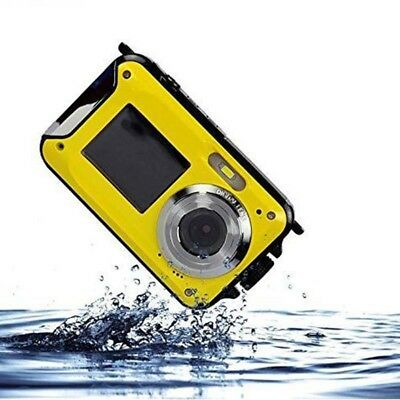 Dual-display Digital Camera Swim Waterproof Camera Novelty Gift Underwater DVR