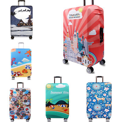 """18-32"""" Luggage Protector Elastic Suitcase Cover Bags Dustproof Anti scratch Gift"""