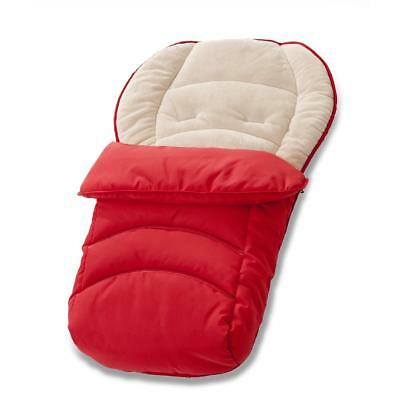 Hauck Fussack 2 Way Cosytoes Footmuff (Red) Keeps Your Little One Warm