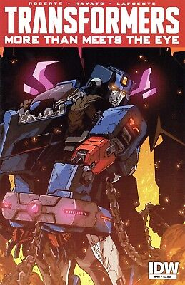 Transformers: More Than Meets The Eye Comic 48 Regular Cover IDW 2015