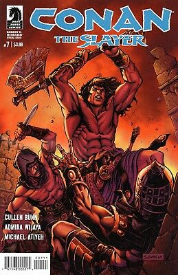 Conan The Slayer Comic 7 Dark Horse 2017 Devil In Iron Part 1 Bunn Wijaya Atiyeh