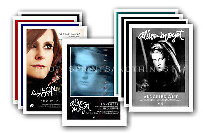 ALISON MOYET - 10 promotional posters  collectable postcard set # 1