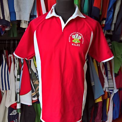 Wales 2007 Unofficial Union Rugby Shirt Made In England Size Adult Xl