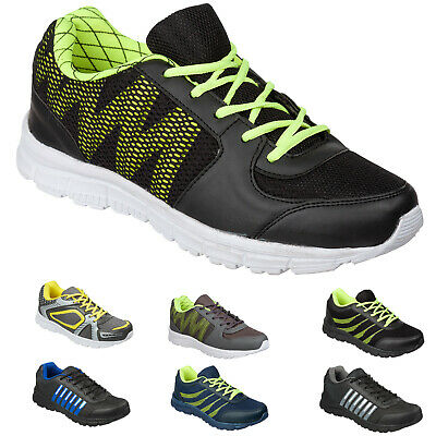 NEW Mens & Boys Trainers By MIG Size 6 to 11 UK - LIGHTWEIGHT & BREATHABLE