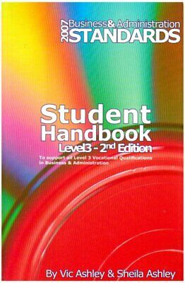 Business and Administration: Student Handbook Lev... by Ashley, Shelia Paperback