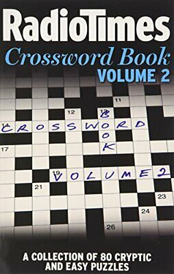 """""""Radio Times"""" Crossword Book: v. 2 by Radio Times Paperback Book The Cheap Fast"""