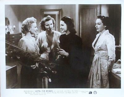 Linda Darnell Ann Sothern Hotel For Women Orig 1939 Uk Lobby Card Set Of 7