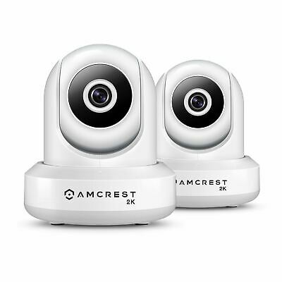 AMCREST 2-PACK IP3M-941W UltraHD 2K 3MP 90°WiFi Video Monitor Security Dual  Band
