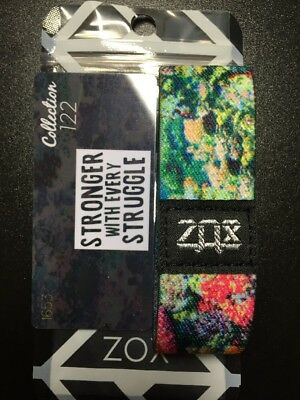 ZOX Straps STRONGER WITH EVERY STRUGGLE Sold Out Unworn Wristband Collection 122