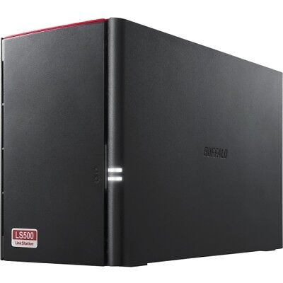 NEW Buffalo LS520DN0202 LinkStation 520 2 TB 2-Drive NAS for Home/Home Office