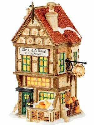 Department 56 Dickens Village The Duke's Wheel Cheese Shoppe Building 4050930