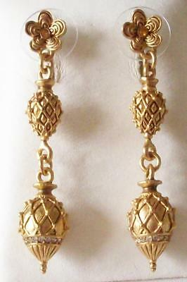 V & A The Victoria & Albert Museum, Stunning Castellani Drop Earrings Rrp £55.00