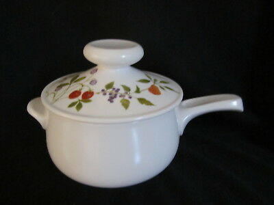 Noritake - BERRIES N'SUCH - Fondue Pot With Lid BRAND NEW