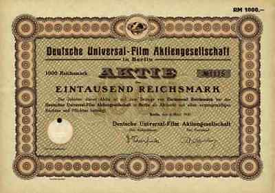 Deutsche Universal Film 1930 Berlin Universal Pictures New York Mercedes Palast>