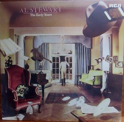 Lp -  Al Stewart  =  The Early Years    -  Mit Song-Texten..................1978