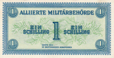 1 Schilling Aunc Banknote From Allied Forces In Austria 1944!pick-103