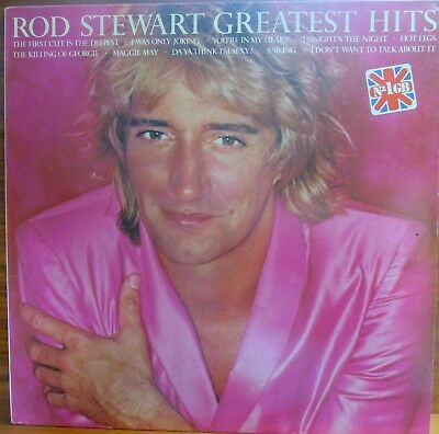 Lp -  Rod Stewart = Greatest Hits .................1982  (Made In Espana)