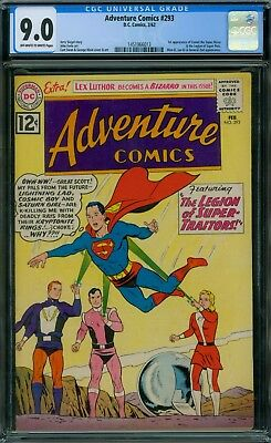 Adventure Comics 293 CGC 9.0 - OW/W Pages