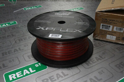 XS Power XP Flex 4 Gauge Red Power Cable 100 Feet 10% OFC 90% CCA XPFLEX4RD-100