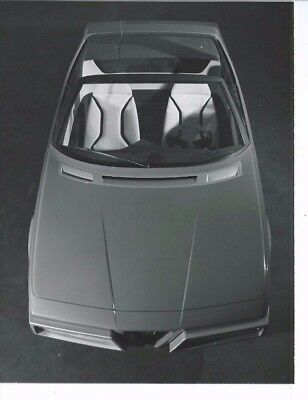 Alfa Romeo Pininfarina Eagle Spider View from Above Top Open Photograph 1975