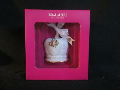 Royal Albert - OLD COUNTRY ROSES - Crown Christmas Ornament BRAND NEW