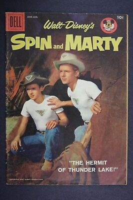 SPIN and MARTY #6 Vintage Dell Comic Book 1958