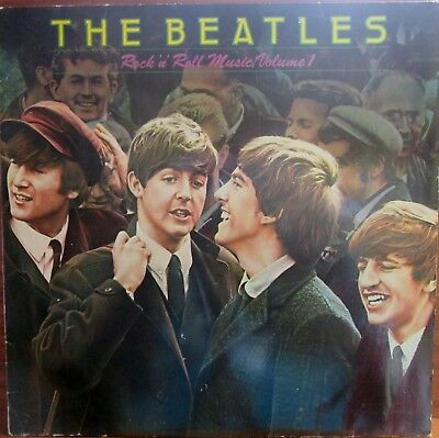 Lp -  Beatles  = Rock'n Roll Music Volume 1  (Sfp - Records) - Made In Holland