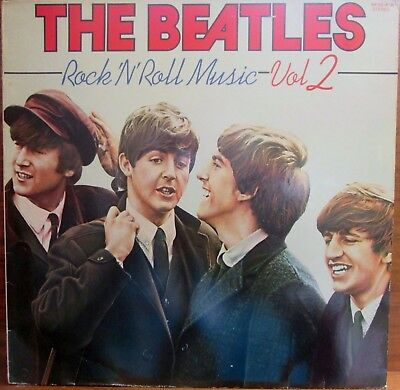 Lp -  Beatles  = Rock'n Roll Music Volume 2  (Sfp - Records) - Made In Holland
