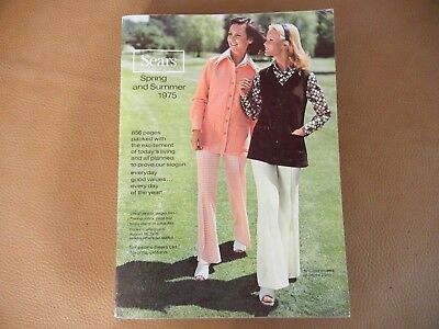 1975  SEARS   SPRING  AND  SUMMER  CATALOG - 856  pages