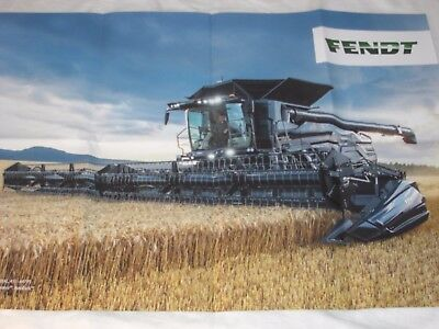 FENDT IDEAL Mähdrescher Poster ( 4014 )