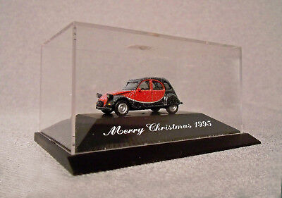 Herpa Citroen Ente 1 zu 87 Private Collection Merry Christmas 1995