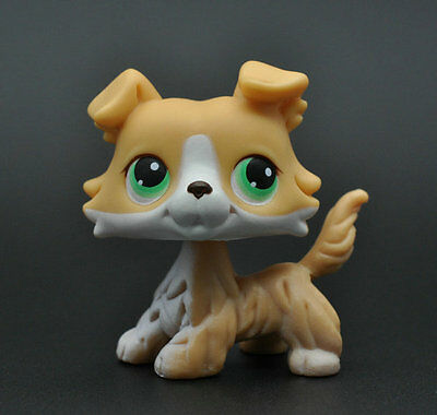 Pet Littlest Collie Dog Child Girl Figure Toy Loose Cute LPS927