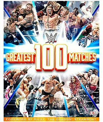WWE: 100 Greatest Matches by Miller, Dean Book The Cheap Fast Free Post