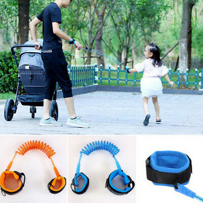 Anti-Lost Spring Wristband safety Harness Rope Belt Elastic Wire For Kids Child
