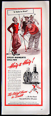 Vintage 1941 Haig & Haig Blended Scots Whisky Magazine Ad Oldest Name in Scotch