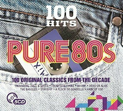 Various Artists - 100 Hits - Pure 80s - Various Artists CD 1MVG The Fast Free