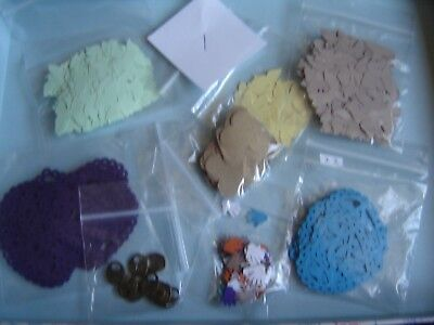 JOB LOT Craft Clearout Wedding Confetti Butterly Heart Punchies Mixed Colours