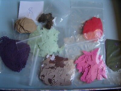 JOB LOT Craft Clearout Wedding Confetti Butterly Heart Punchies Mixed Colours 8