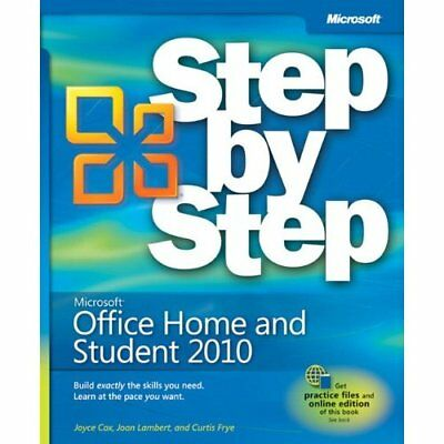 Microsoft Office 2010 Home and Student Edition Step by  - Paperback NEW Lambert,