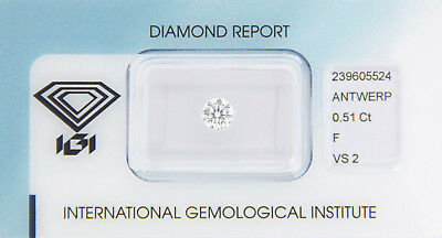 Diamant 0,51ct F VS 2