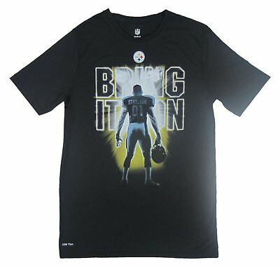 NFL - NWT Pittsburgh Steelers Bring It On Youth Black T-Shirt - Youth S M L XL