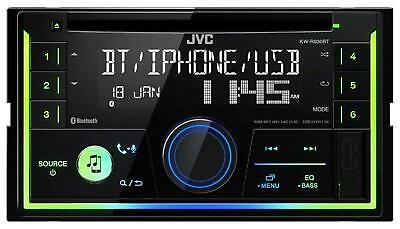 JVC KW-R930BT Doppel-DIN CD/MP3-Autoradio Bluetooth USB iPod AUX-IN