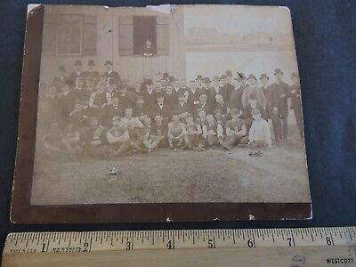 Rare 1890 ASTORIA OUTING Queens Photo 6x8 by Gafney Welfare Island visable